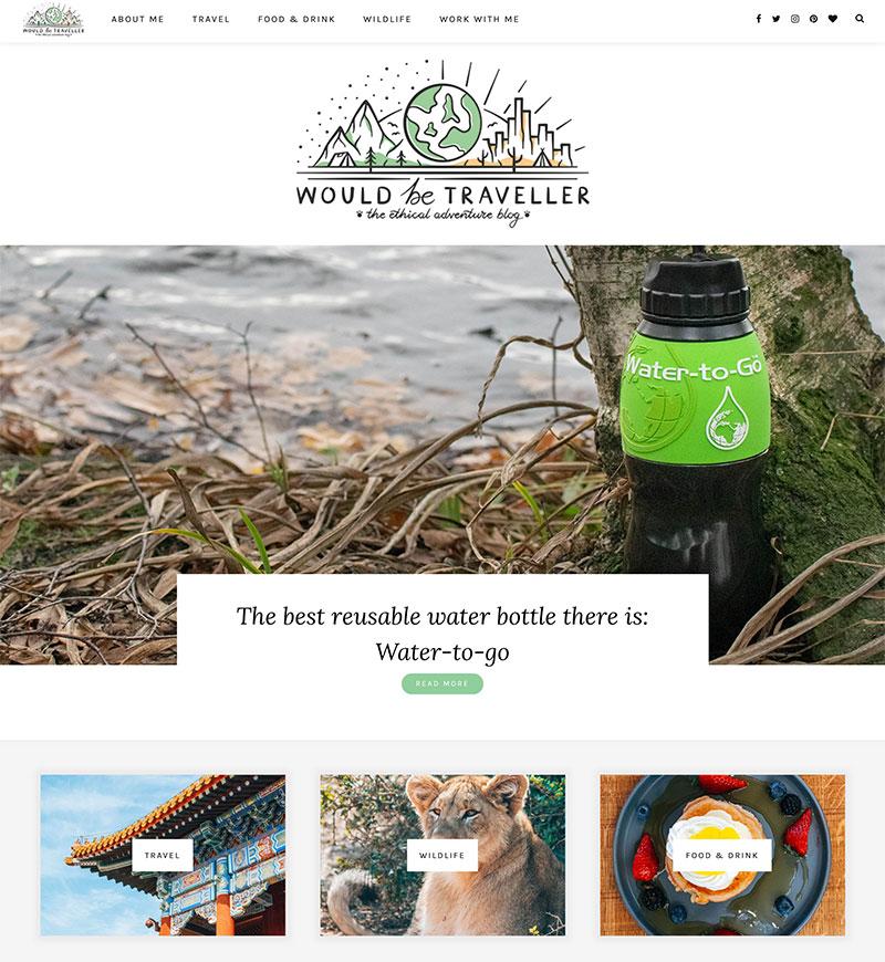 Engage Digital Marketing Portfolio Travel Blog